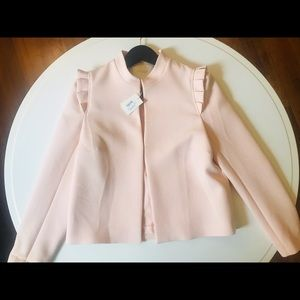 Maje | Brand New Nude/Pale Pink Blazer